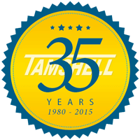 Tamshell 35 Year Anniversary Emblem