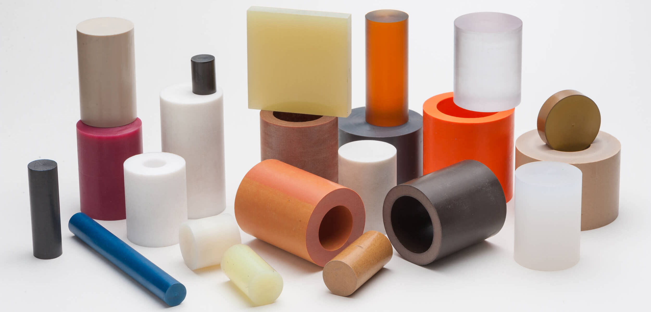 tube and rod plastic material